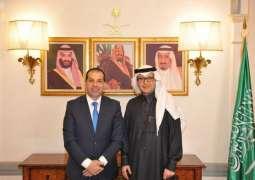 سفير المملكة في لبنان يستقبل المدير الإقليمي لمنظمة الغذاء العالمي