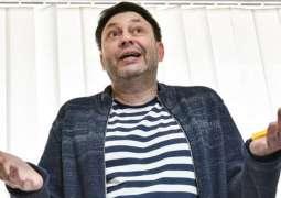 Russian Journalists Call on Ukraine's Zelenskiy to Facilitate Vyshinsky's Release