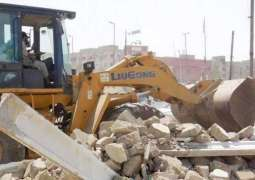 13 trucks encroachment material confiscated in Islamabad
