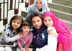 Shahid Afridi's beautiful remarks about his daughters will melt your heart