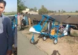 Pakpattan man tells story of his arrest for making mini airplane