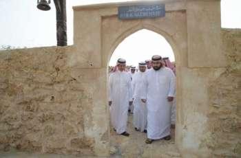 نائب أمير منطقة جازان يتفقد قرية القصار وعدد من المواقع السياحية بفرسان