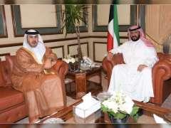 سفير الدولة في الكويت يلتقي محافظ العاصمة