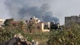 إجلاء 30 عائلة من مناطق الاشتباكات بالعاصمة الليبية طرابلس - الهلال الأحمر