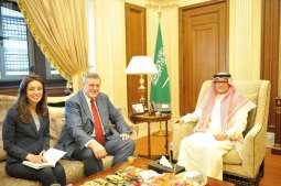 سفير خادم الحرمين الشريفين يستقبل المنسق الخاص للأمم المتحدة في لبنان