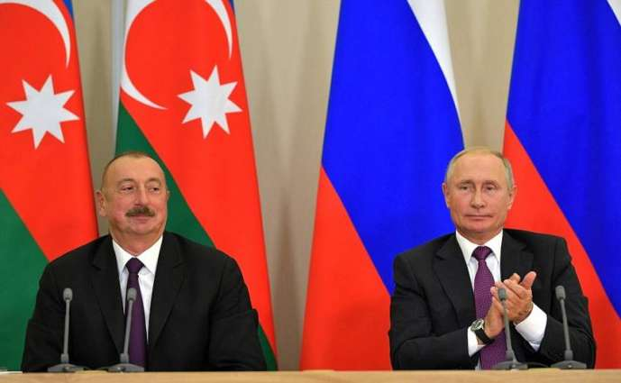 Putin, Aliyev Discuss Nagorno-Karabakh Settlement in Phone Talks