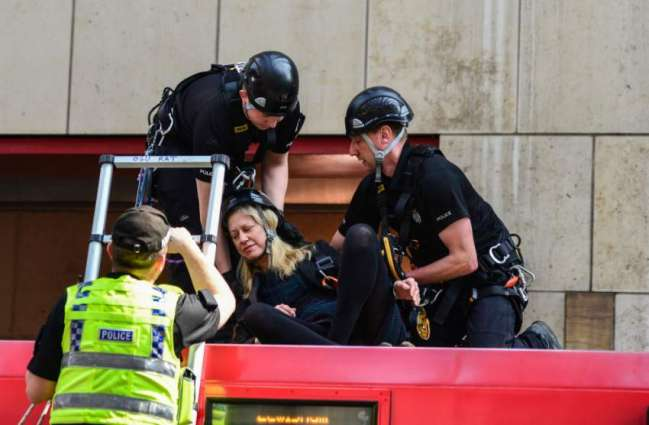 Five Climate Activists Arrested for Climbing on Train Roof at London Station - Police