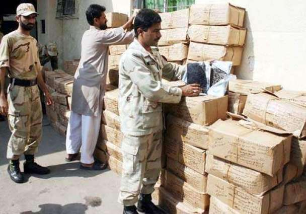 Anti Narcotics Force Pakistan seizes 3.148 ton drugs in 32 operations