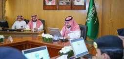 نائب أمير الجوف يرأس اجتماع اللجنة العليا دعم ومساندة تنفيذ المشاريع