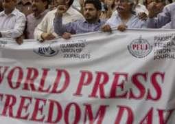 PFUJ marks World Press Freedom Day