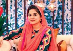Sanam Baloch won't be hosting Ramzan transmission this year