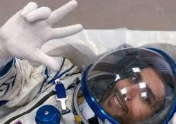 Emirati astronauts get custom Soyuz /MS-15/ seats