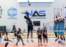 Former champions Surprise and Dubai 2021 to faceoff for NAS Volleyball title