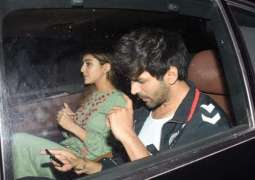 Sara Ali Khan, Kartik Aaryan shoot for Imtiaz Ali's next in Mumbai, leave in the same car