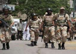 Police,  Rangers conduct search operation in Lyari
