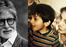 Amitabh Bachchan's throwback picture with baby Kareena Kapoor is winning hearts