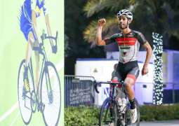 Saif Al Kaabi wins men's open race in NAS Cycling Challenge, 12-year-old Issa bags boys' crown