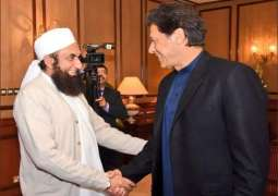 Maulana Tariq Jameel is still not disappointed at PM Imran