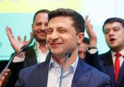 Zelenskiy Calls on Ukrainians to Unite in Order to Be Strong
