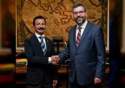 DP World Chairman, Brazil FM discuss FDI engagement