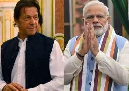 PM Imran congratulates Modi on election win
