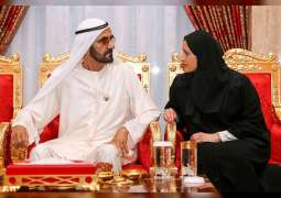 Mohammed bin Rashid receives scientists and researchers