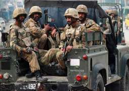 Two terrorists killed as security forces foils terror bid near Quetta airbase