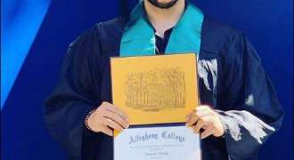 Proud moment for Wasim Akram as his son graduates