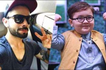 Virat Kohli turns out to be a fan of Pakistani kid Ahmed Shah