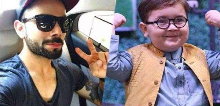 Virat Kohli turns out to be a fan of Pakistani kid Ahmed Shah