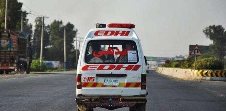 Man dies in road mishap in Gojra