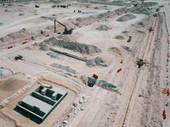 Musanada: 50% of AED237 million Al Shamkha Internal Road Project Complete