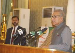 Arif Alvi, the President of Pakistan hosts an iftar for orphans, attended by Chairman Khubaib Foundation and the CEO of Tecno Mobile