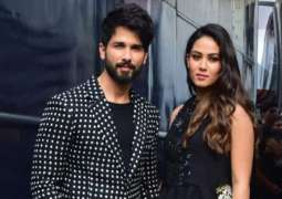 Shahid Kapoor and Mira Kapoor twin in white as they head out for dinner