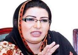 Release of poor families an Eid gift for 820 families: Firdous Ashiq Awan