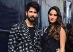 Shahid Kapoor, Mira Kapoor twin in white as they head out for dinner