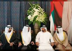 Mohamed bin Zayed attends wedding ceremony