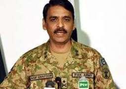 DG ISPR congratulates Ahad, Sajal on engagement