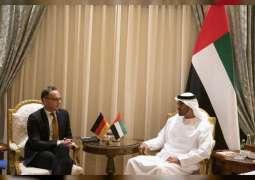 Mohamed bin Zayed receives German FM
