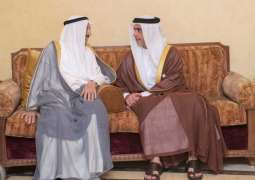 Condolences by UAE President, Vice President and Mohamed bin Zayed to Prime Minister of Kuwait on passing of mother