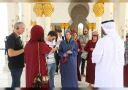 Sheikh Zayed Grand Mosque receives 17,2695 visitors during Eid al-Fitr