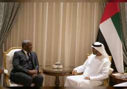Mohamed bin Zayed, Chairman of Vista Equity Partners explore joint technological cooperation