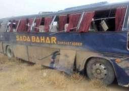 Five killed 15 injured as passenger bus overturns in Punjab