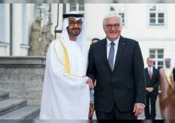 Mohamed bin Zayed, German President discuss consolidating bilateral relations