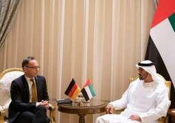Mohamed bin Zayed meets Germany's FM