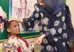 Maryam Nawaz fulfills Thalassemia patient's wish