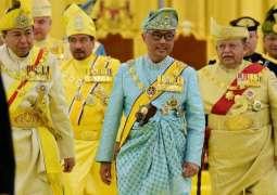 Mohamed bin Zayed receives Malaysian King