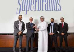 SAIF ZONE voted as 'UAE Superbrands' 2019