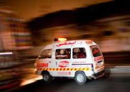 5 killed, two others injured in road mishap in Muzaffargarh