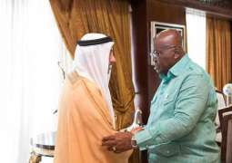 Ghana President receives UAE official